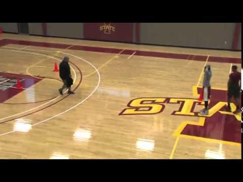 Increase Agility Using Iowa State's Cone Shuffles! – Basketball 2015 #65