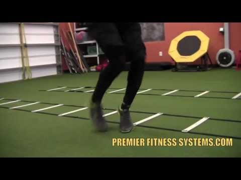 New Agility Ladder Drills – Speed and Quickness Drills – Ladder Drills for Football