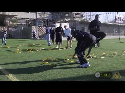 Speed and Agility Drills with NFL Players