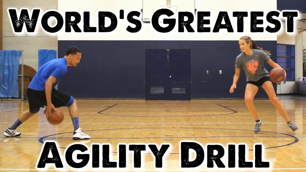World's Greatest Agility Drill for Basketball: Split the Circle