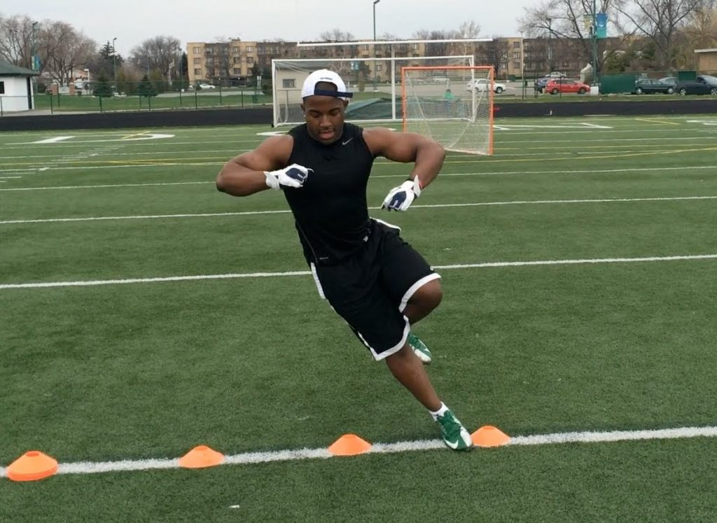 """How To Run Faster"" – Speed And Agility Drills For Football Players"