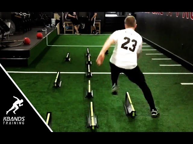 Speed Workouts | Football Hurdle Drill For Explosive Agility | Best Football Agility Drills