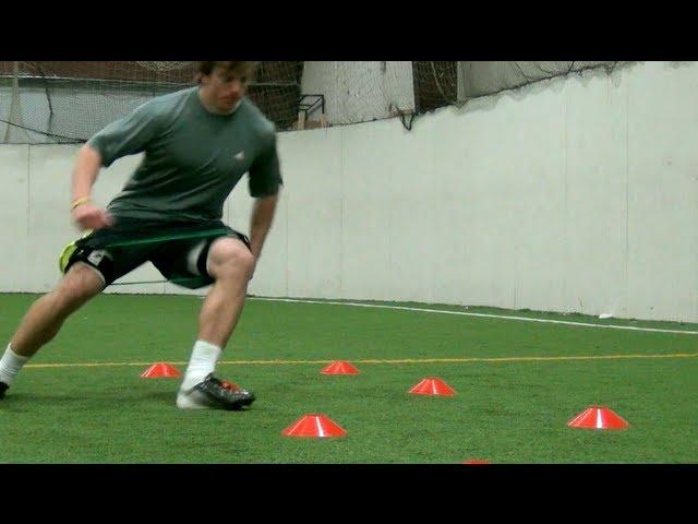 Explosive Cuts | Football Training| Football Speed and Agility