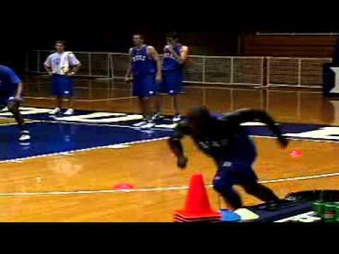 Mike Krzyzewski: Duke Basketball – Agility & Conditioning Drills for Defense