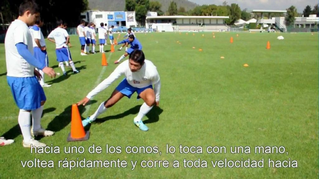 Blazing Football/Soccer Speed: Pro Agility Drill