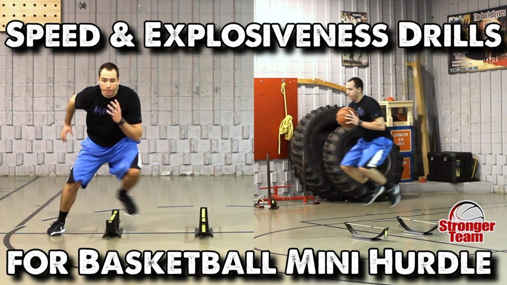 Speed & Explosiveness Drills for Basketball – Mini Hurdle