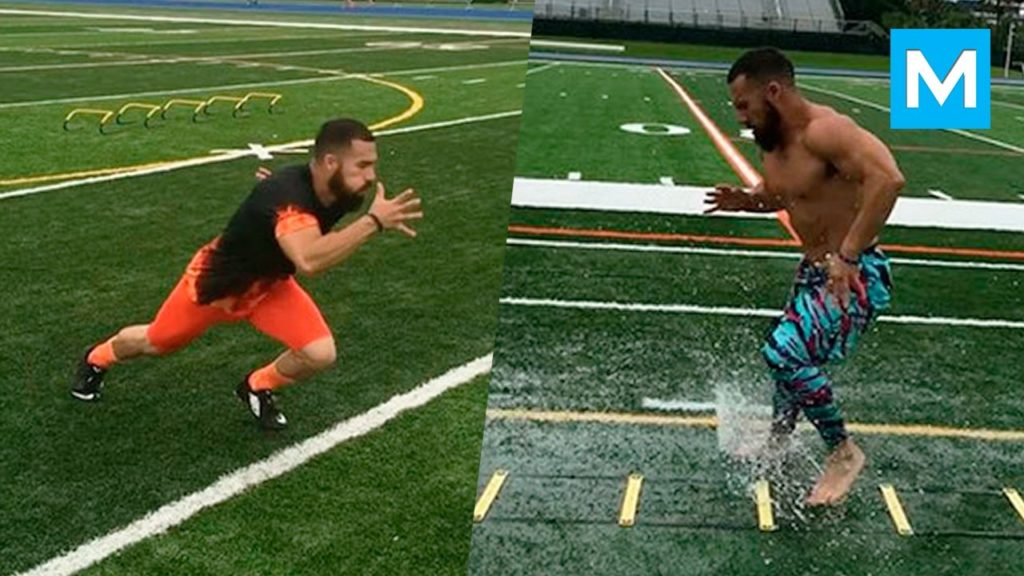 Speed Machine – Speed & Agility Drills with Luis Badillo Jr   Muscle Madness