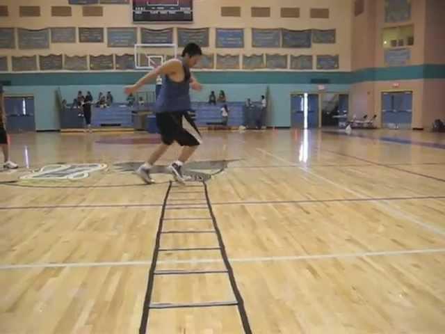 Agility training drills for Basketball