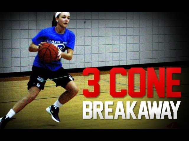 Kbands 3 Cone Breakaway | Basketball Speed and Agility Training