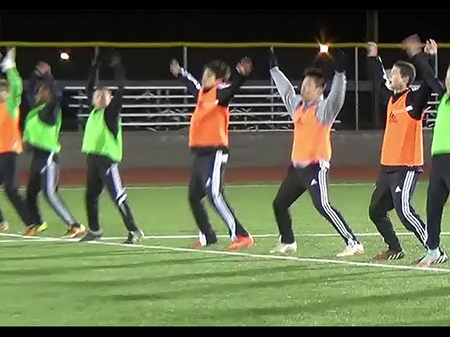Soccer Speed and Agility Warm Up
