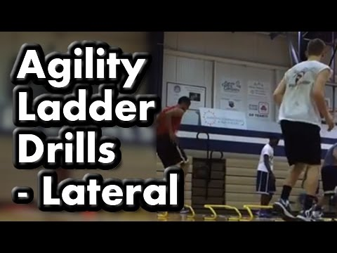 Agility Ladder Drills for Basketball (Lateral footwork, quickness & speed drills)