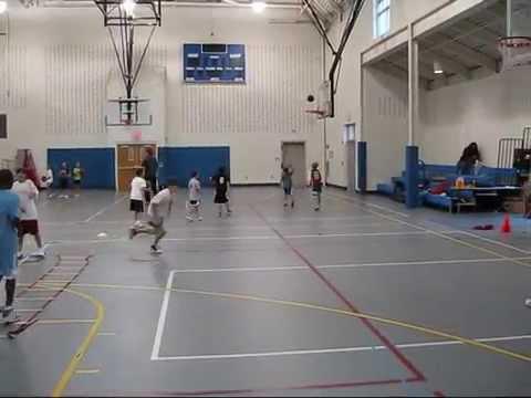 Agility Ladder Basketball Drills