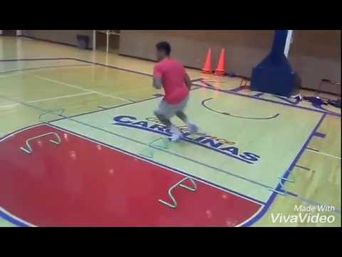 Advanced basketball agility and conditioning workout  .  Scott Hendricks