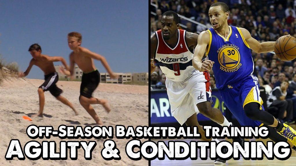 Off-Season Basketball Training: Agility & Conditioning Drill