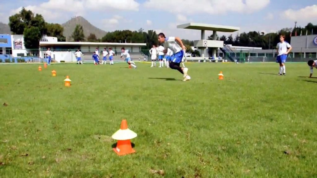 Blazing Football/Soccer Speed: 3 Cone Agility Drill