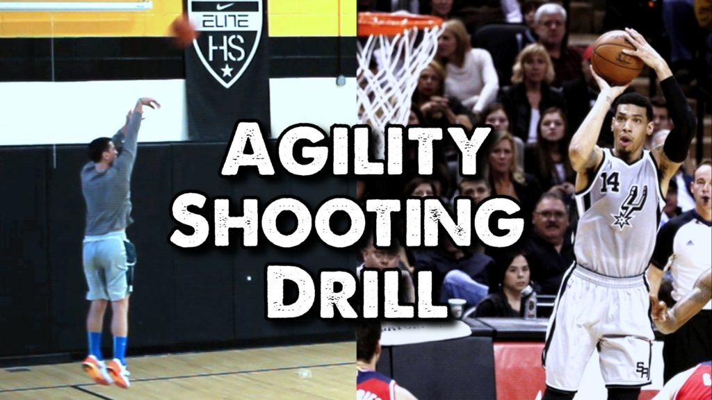 Agility Shooting Drill for Basketball: Trace the 3-Point Arc