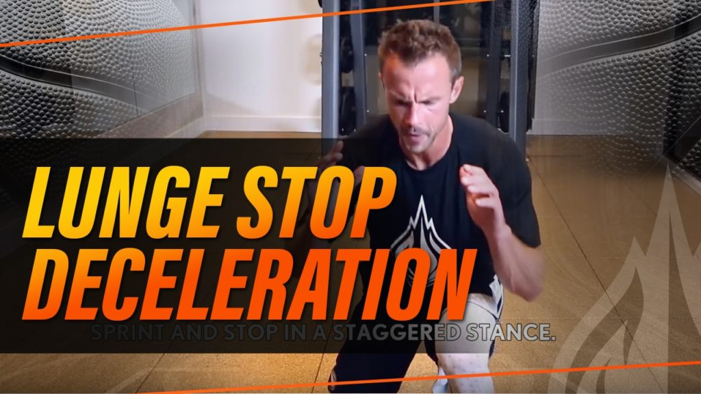 Basketball Agility Drill: Lunge Stop Decelerations with Coach Alan Stein