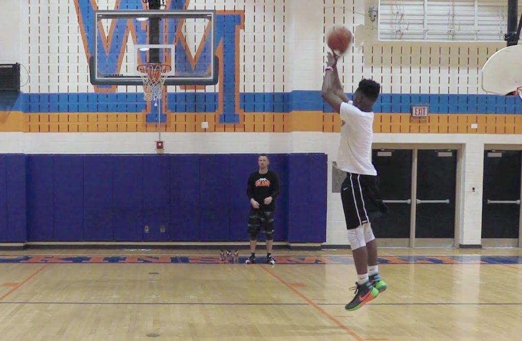 SLAM x BODYARMOR Basketball Training Drills: Agility Shooting