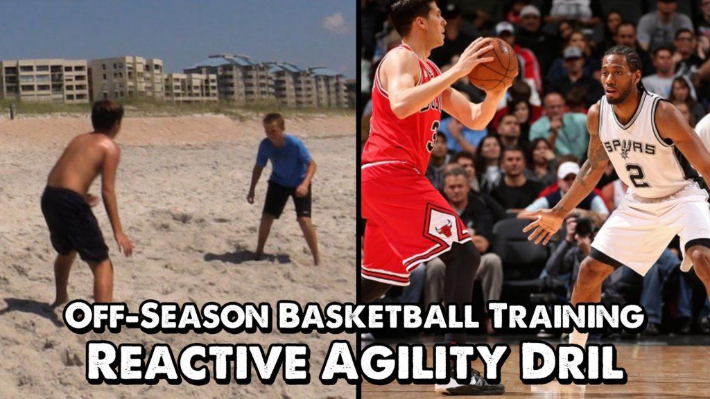 Off-Season Basketball Training: Reactive Agility Drill