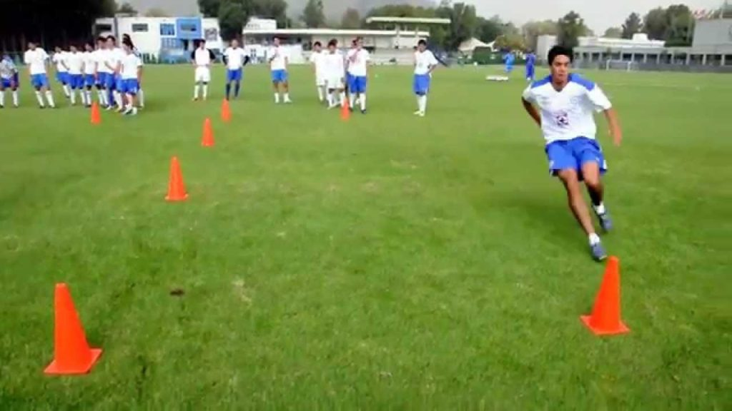 Blazing Football/Soccer Speed: Illinois Agility Drill