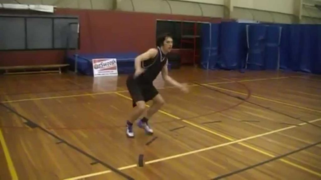 Basketball Defense – Agility Drill