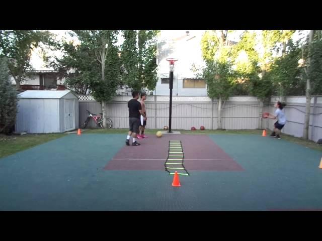 BASKETBALL DRILLS: MEDICINE BALL, AGILITY LADDER, SHOOTING