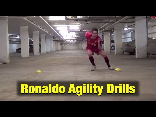 Soccer Agility Drills For Feet Like Ronaldo
