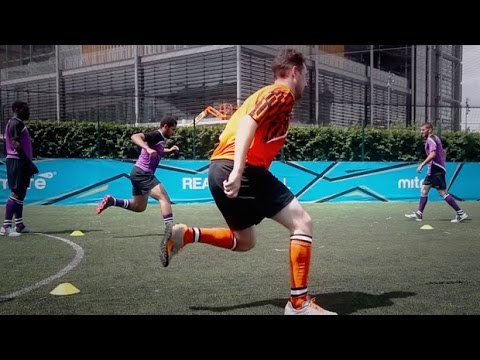 How to improve strength, balance and agility | Soccer training drill | 5-a-side