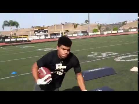 How To Get Insane Yards After Catch || Football Agility Conditioning Workout