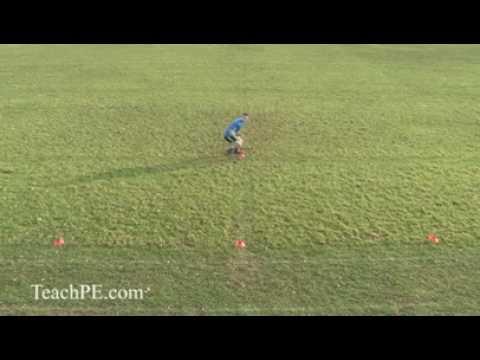 Basic Agility Football / Soccer Drills – 3 Cone Sandwich