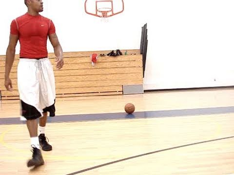 Dre Baldwin: Rim Touches – Pushups Basketball Agility Drill | Jumping Strength Athleticism Warm-Up