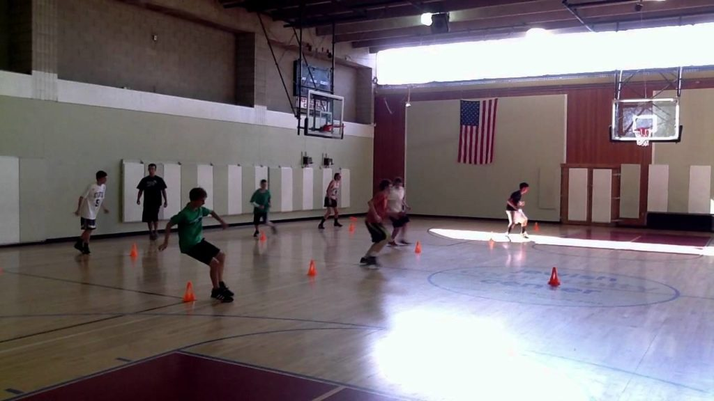 Best Basketball Skills & Drills – Speed & Agility – Explosive 4 Cone Drill