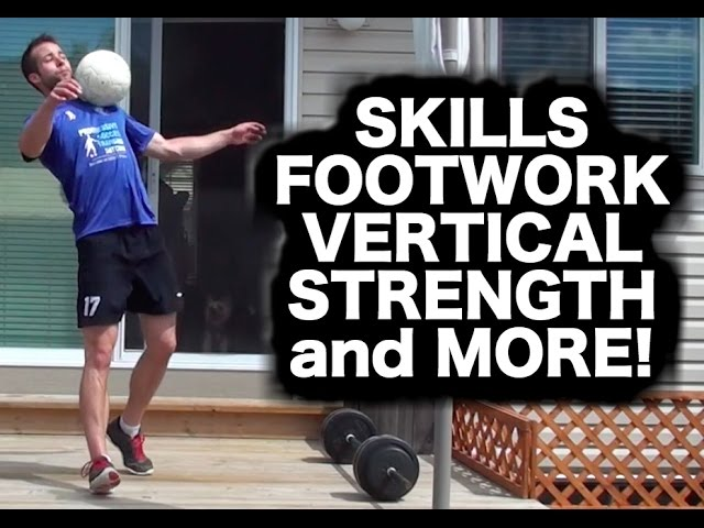 Total Soccer Workout ► Drills / Tricks / Agility / Conditioning ► Progressive Soccer Training