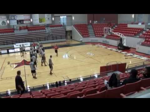 Basketball Performance Warm up and Agility Drills