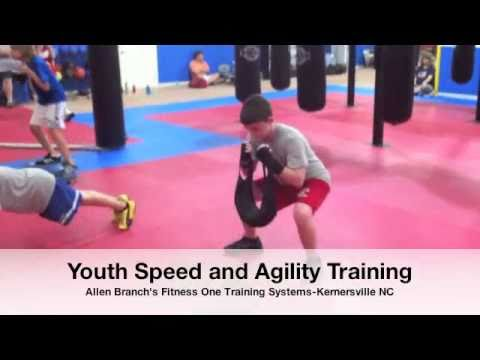 Youth Speed and Agility Training | Fitness One Kernersville NC | Soccer Basketball Football