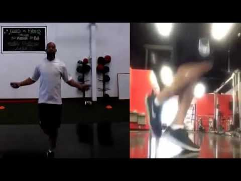 Football Agility Training: Improving Quickness Jumping Rope
