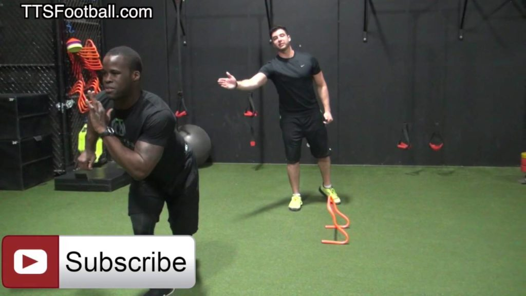 """Agility Training"" for Stop On a Dime Quickness for Football Players"