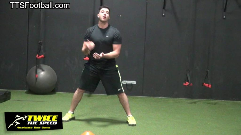 """""""Agility Training"""" to Drop Your """"5-10-5 Shuttle"""" for Football Players"""