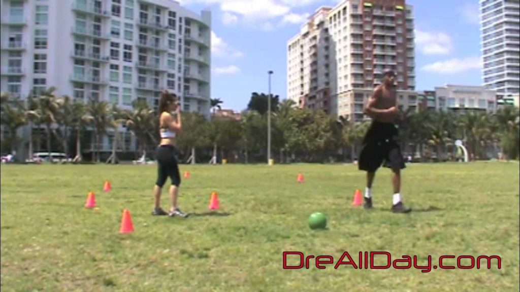 Dre Baldwin: Diamond Sprint Drill | Basketball Speed Quickness Agility Drills | Conditioning Workout