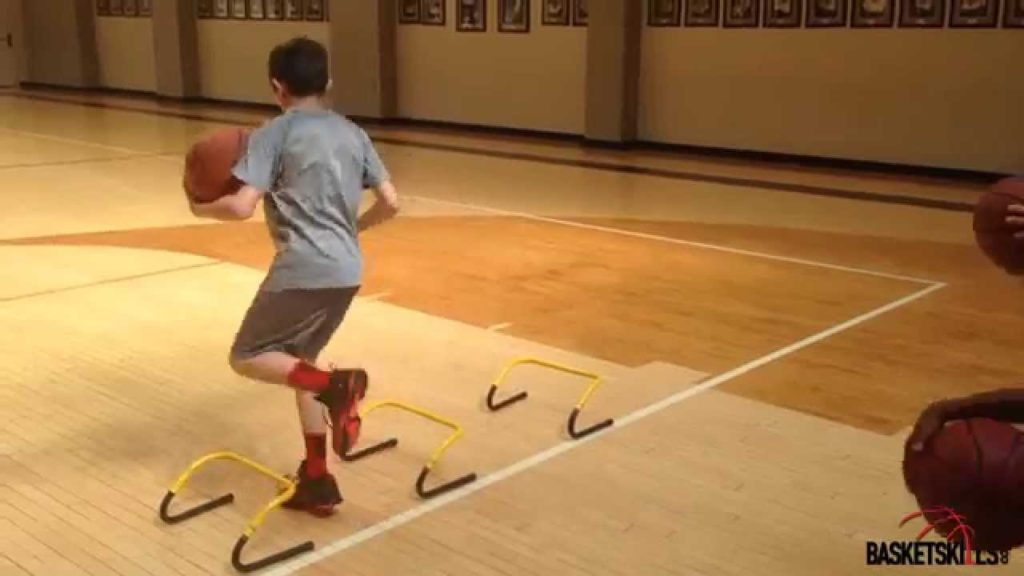 Agility,footwork and dribbling drill for basketball