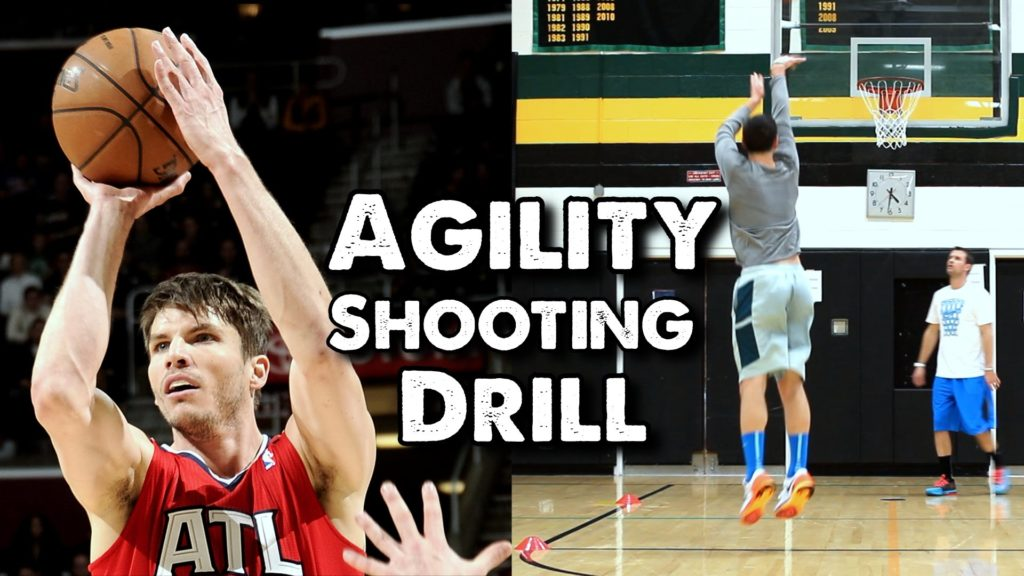 Agility Shooting Drill for Basketball: Tight Circles