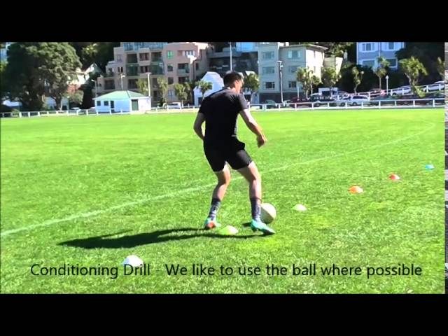Agility and Anaerobic Conditioning Drills for Football (Soccer)