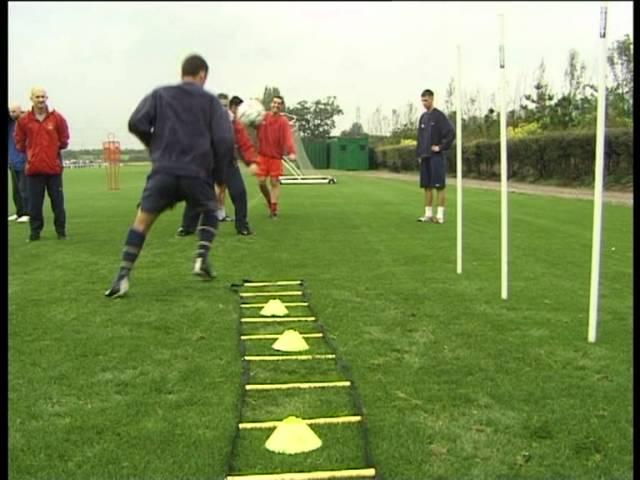 Arsenal FC – SAQ training with Fast Foot Ladder Part 1 (Speed, Agility, Quickness (SAQ®)