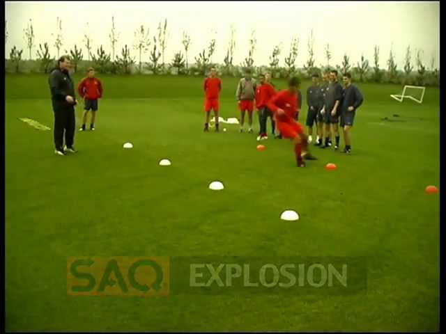 SAQ® Football Training  (Speed, Agility, Quickness (SAQ®)