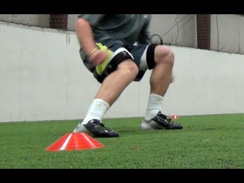 Speed Training | 4 Cone Drill | Agility Drill