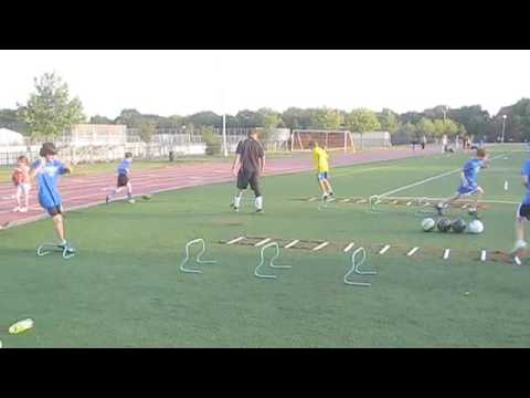 U12 Soccer Combine Training- Conditioning-Agility-Speed-Skills Workout