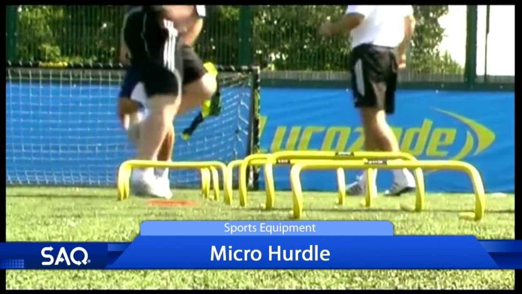 SAQ Micro Hurdle – Coerver Football Coaching (Speed, Agility, Quickness (SAQ®)