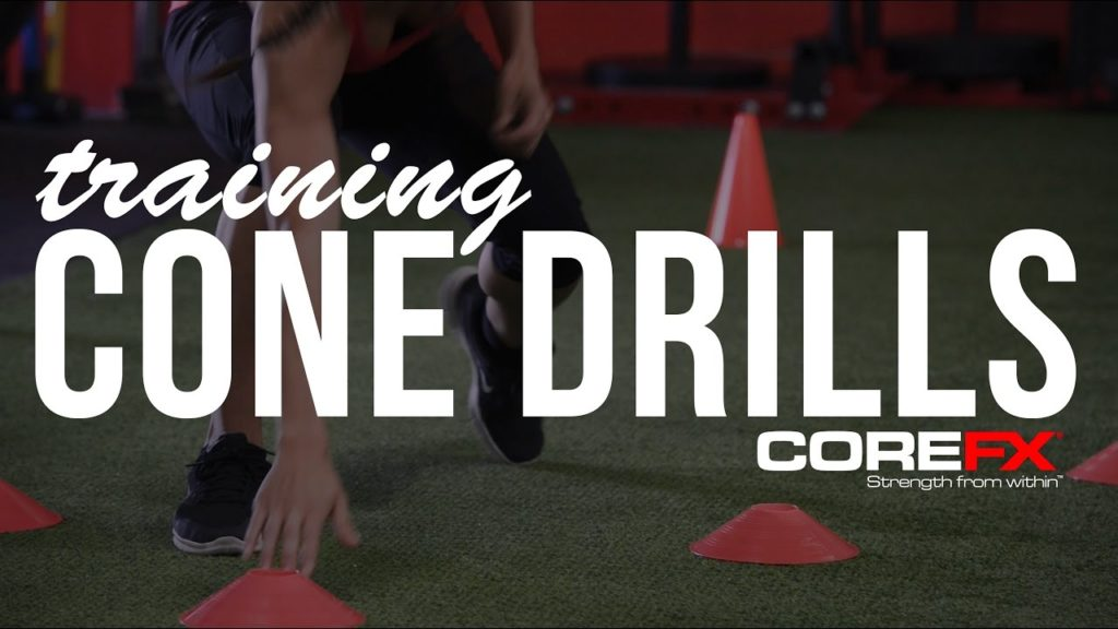Basketball Training Cone Agility Drills For Speed and Quickness