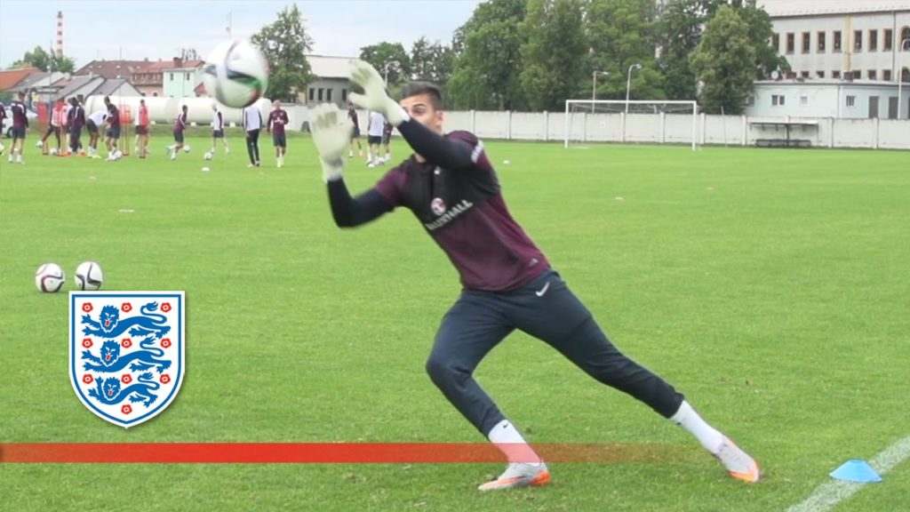 Speed and agility drills – England U21s goalkeepers | Inside Training
