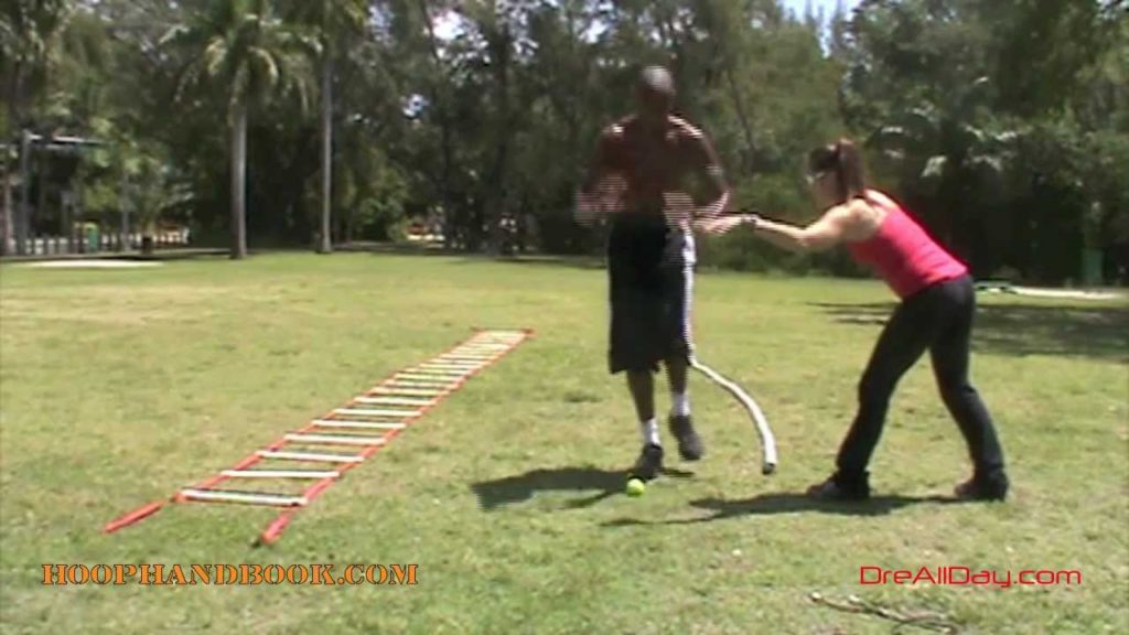 Dre Baldwin: Basketball Agility & Balance – One-Foot Balance-Jumps Drill Pt. 1 | NBA Fit